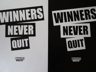 Poster Winners Never Quit Set