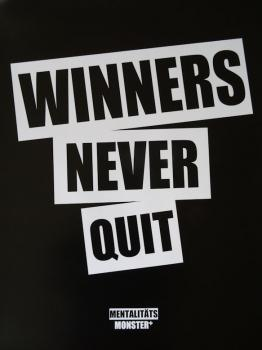 Poster Winners Never Quit